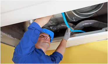 Ventilation ducts Cleaning